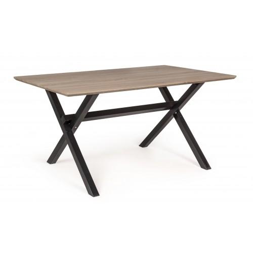 Yes | Tavolo PHILOS Piano Scuro 150X90 | Tavoli di Legno