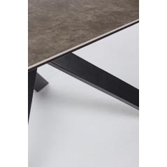 Bizzotto | Tavolo MESSIER 180X90 | Tavoli in Vetro e Gres
