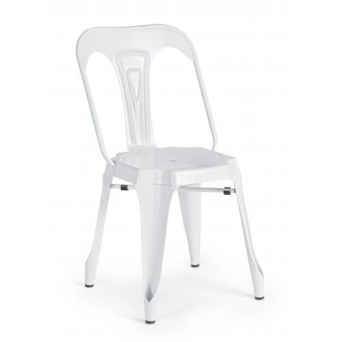Bizzotto | Sedia MINNEAPOLIS Bianco | Sedie Moderne