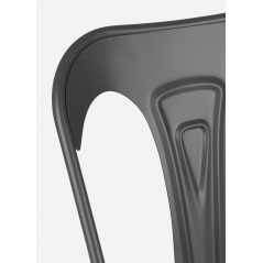 Bizzotto | Sedia MINNEAPOLIS Antracite | Sedie Moderne