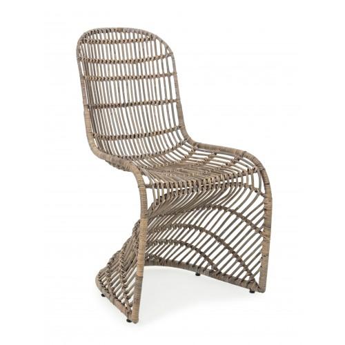 Bizzotto | Sedia ZELAI Grigio | Sedie Moderne