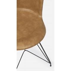 Bizzotto | Sedia LOFT PU Cuoio Vintage | Sedie Moderne