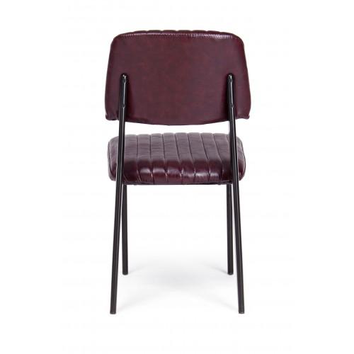 Bizzotto | Sedia NELLY Bordeaux Vintage | Sedie Moderne