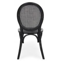 Bizzotto | Sedia GLOBO Nero | Sedie in Legno