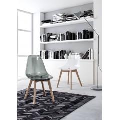 Bizzotto | Sedia EASY Trasparente | Sedie Moderne