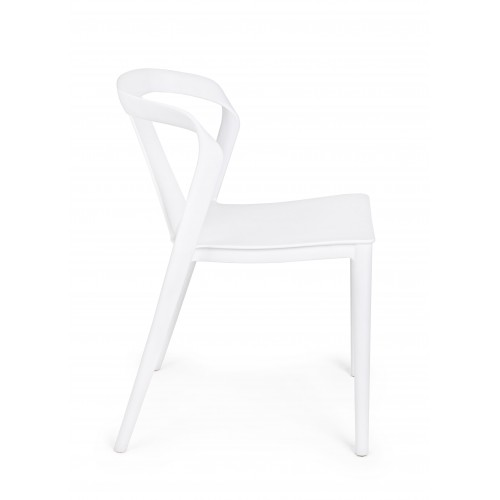 Bizzotto | Sedia ALYSSA Bianco | Sedie Moderne