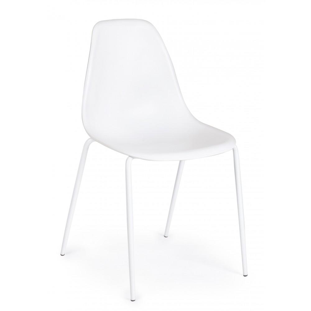 Yes | Sedia IRIS Plastica Bianco | Sedie Moderne