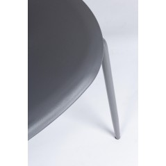 Yes | Sedia IRIS Plastica Grigio | Sedie Moderne
