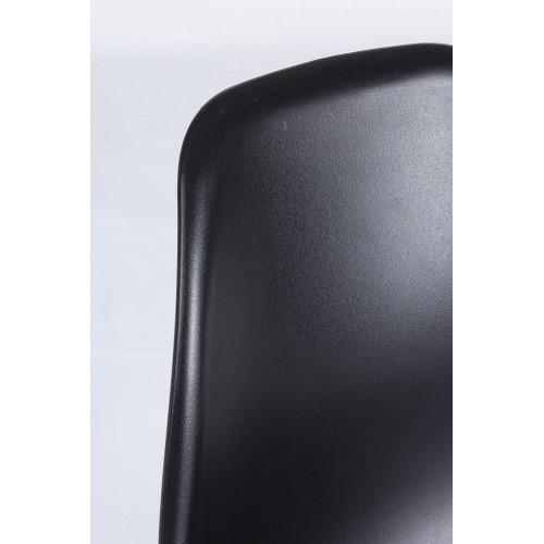 Yes | Sedia IRIS Plastica Nero | Sedie Moderne