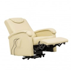 Cosma | Poltrona Relax Elettrica Reclinabile Beige | Poltrone