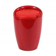 Cosma | Sgabello Pouf CLIFF Rosso | Pouff