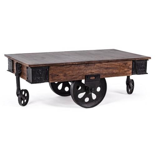 Bizzotto | Tavolino Con Ruote TRACK | Tavoli