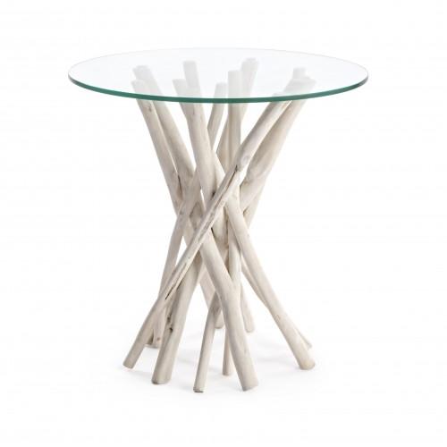 Bizzotto | Tavolino Con Vetro SAHEL | Tavoli