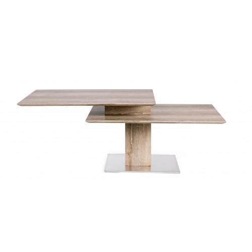 Bizzotto | Tavolino LIAM KENYA 80/120X60 | Tavoli