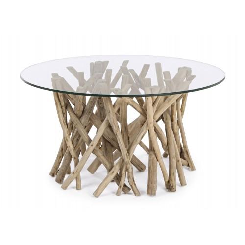 Bizzotto | Tavolino Con Vetro SAMIRA | Tavoli