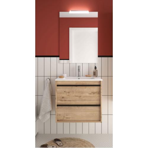 FISSORE.com | ATTILA COMPOSIZIONE SOSPESA 610 x 540 x 450 mm | Composizioni mobili bagno sospese
