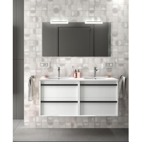 FISSORE.com | ATTILA COMPOSIZIONE SOSPESA 1205X540X450 | Composizioni mobili bagno sospese