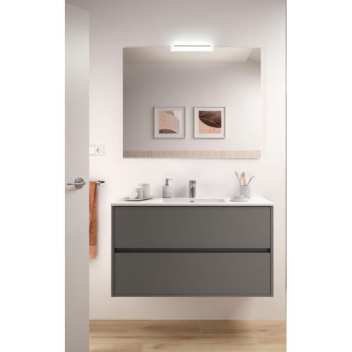 FISSORE.com | NOJA - COMPOSIZIONE BAGNO SOSPESA L 1010 | Composizioni mobili bagno sospese
