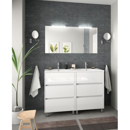 FISSORE.com | ARENYS COMPOSIZIONE BAGNO A TERRA L 1200 H 860 P 45 | Composizioni mobili bagno a terra