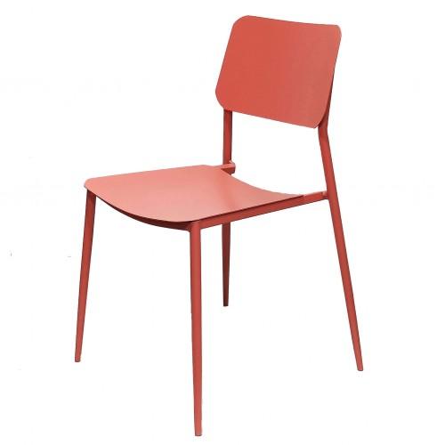 Cosma | SEDIA VEGA IMPILABILE RED | Poltrona e Sedie da Esterno