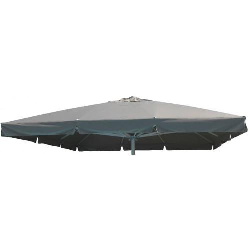 Cosma | OMBRELLONE GIOVE PALO COLOR TORTORA 5 X 5 | Teli e Ombrelloni da Giardino