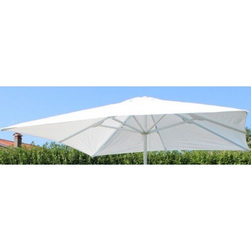 Cosma | OMBRELLONE GIOVE BIANCO 5 X 5 | Teli e Ombrelloni da Giardino