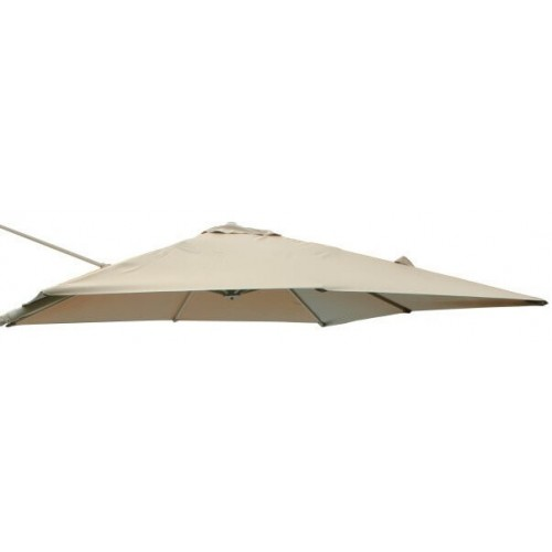 Cosma | TELO SATURNO DI RICAMBIO PER PALO LATERALE TORTORA 3 X 3 | Teli e Ombrelloni da Giardino