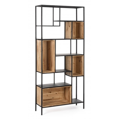 Bizzotto | Libreria REGULAR WOOD H 170 | Librerie