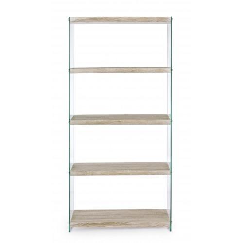 Yes | Libreria SURY Rovere 75 x 29,5 H 160 | Librerie