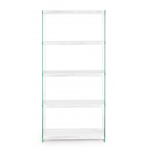Yes | Libreria SURY Bianco 75 x 29,5 H 160 | Librerie