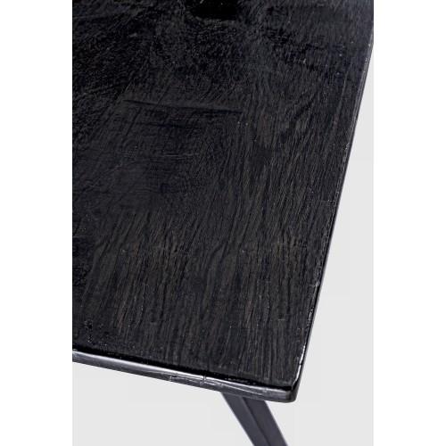 Bizzotto Homemotion | Tavolo CODRIN BLACK GLOSS 200X90 | Tavoli di Legno
