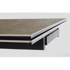 Bizzotto | Tavolo ALL. ARZACHEL 160-240X90 | Tavoli in Vetro e Gres