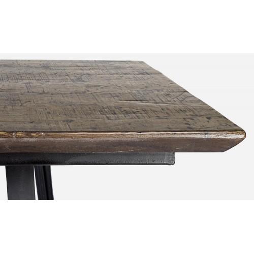 Bizzotto Homemotion | Tavolo CODRIN BROWN GLOSS 200X90 | Tavoli di Legno