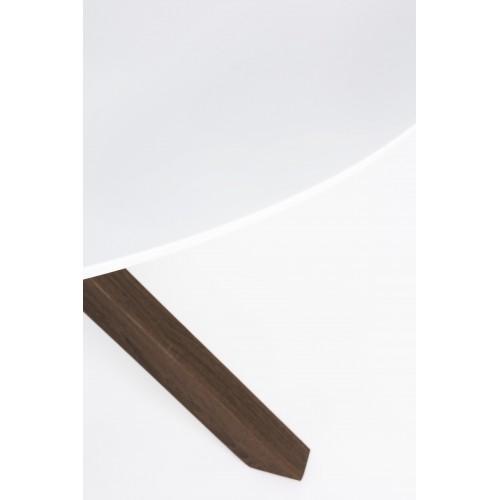 Bizzotto | Tavolo STAR TRANCHE TOP Bianco D120 | Tavoli Moderni