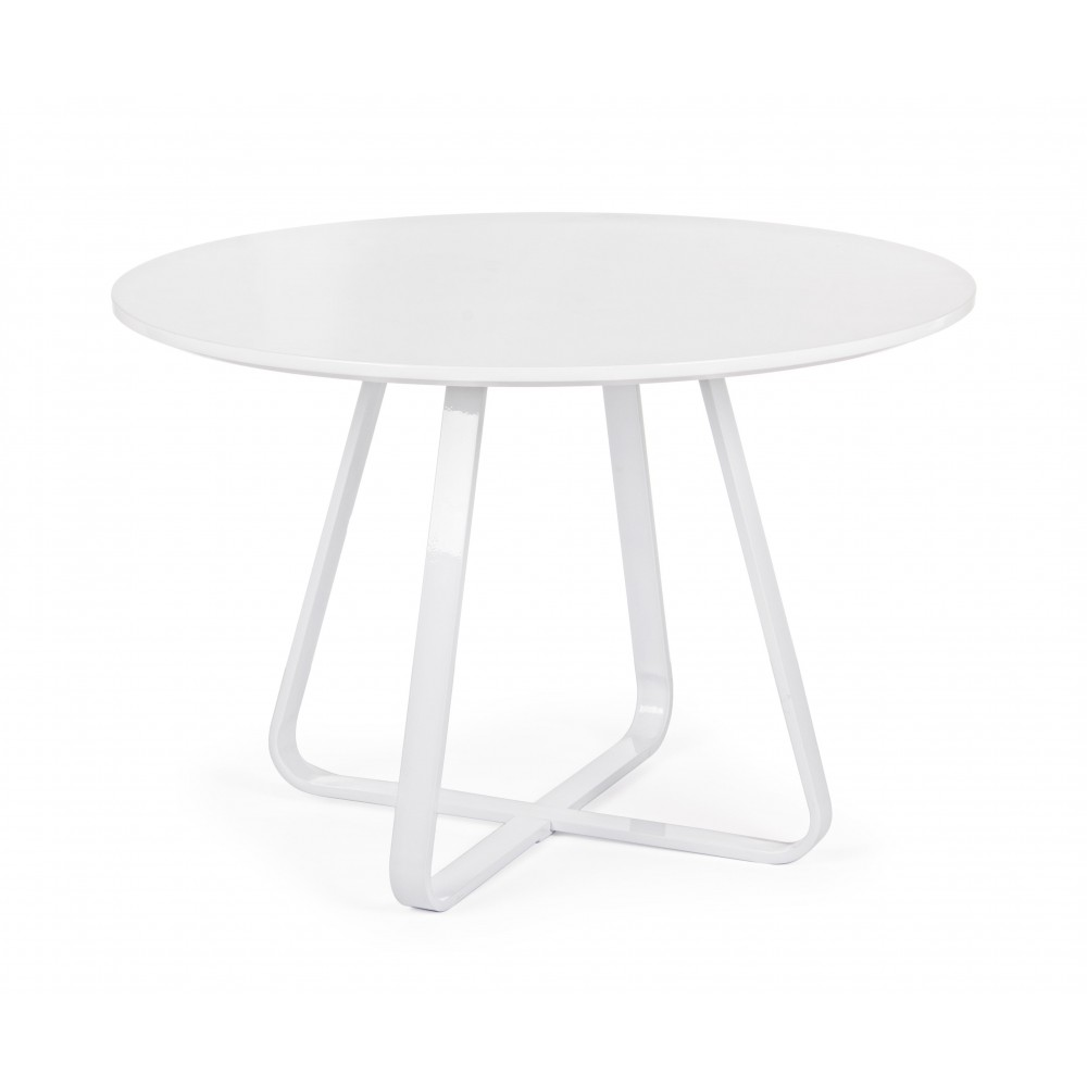 Bizzotto | Tavolo AXELLE TO Bianco D110 | Tavoli Moderni