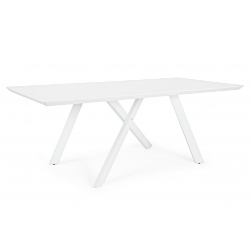 Bizzotto | Tavolo BRAMANTE Bianco 200X100 | Tavoli Moderni