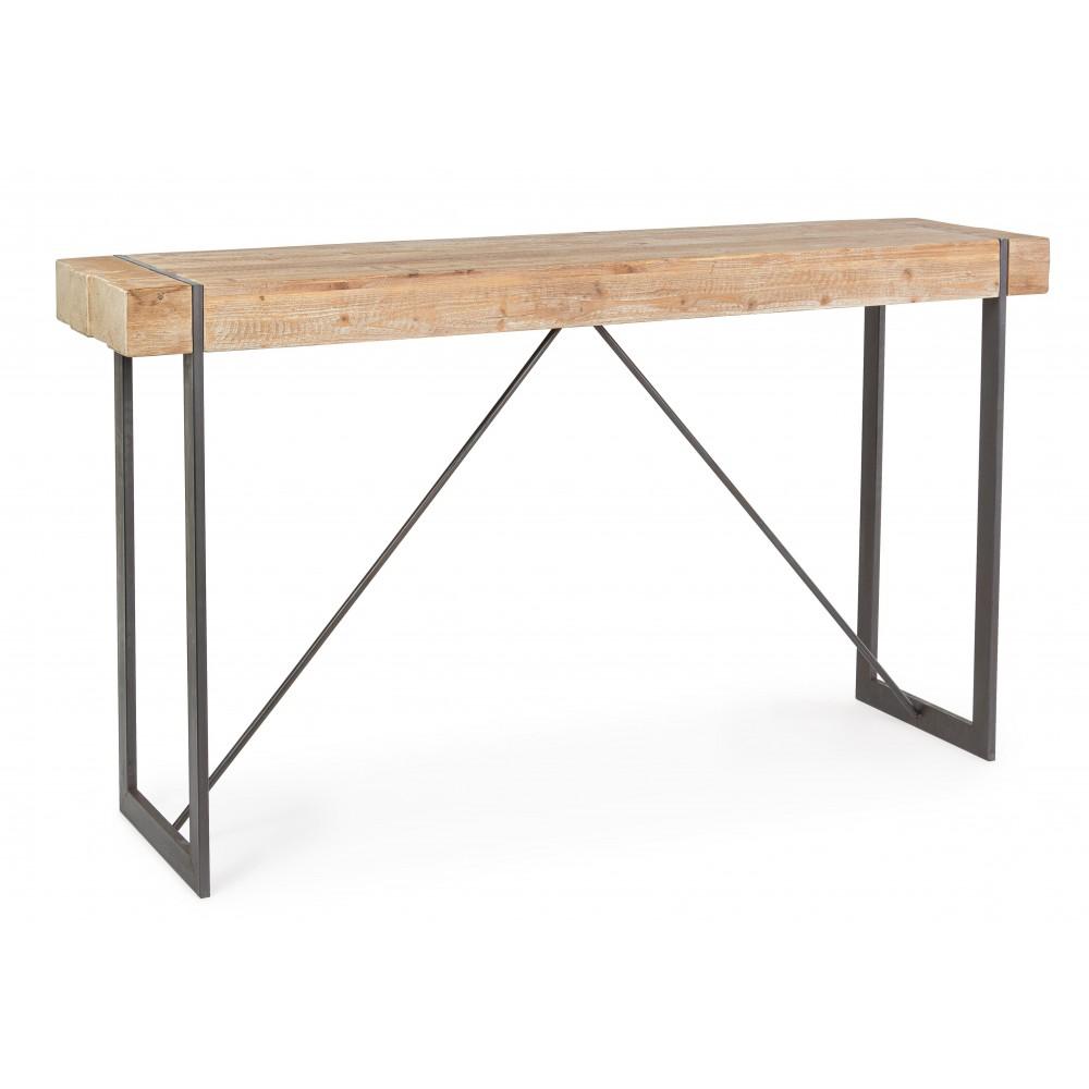 Bizzotto | Tavolo Bar GARRETT 200X50 | Tavoli di Legno