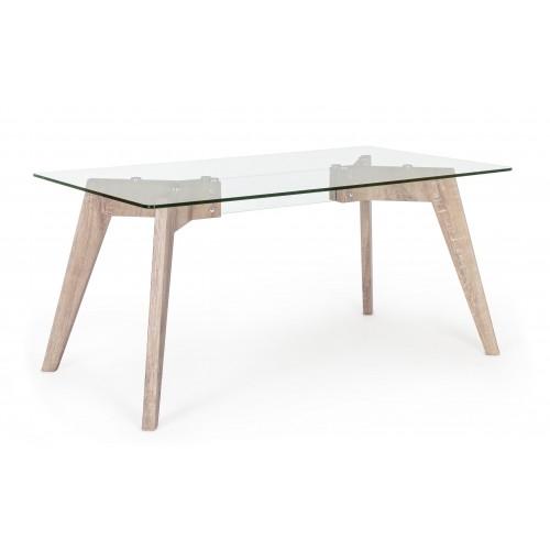 Bizzotto | Tavolo ARYAN KENYA 160X90 | Tavoli in Vetro e Gres