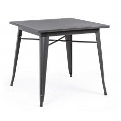Yes | Tavolo MINNESOTA Antracite 80X80 | Tavoli Moderni