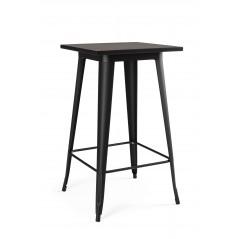 Yes | Tavolo Bar MINNESOTA Quadro Nero H103 | Tavoli Moderni