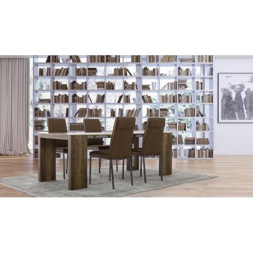 Bizzotto | Tavolo-Consolle TRIBECA 55/215X90 | Tavoli di Legno