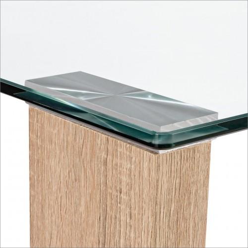 Yes | Tavolo NEW ARLEY NATURE 140X80 | Tavoli in Vetro e Gres